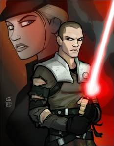 The Force Unleashed by Grant Gould